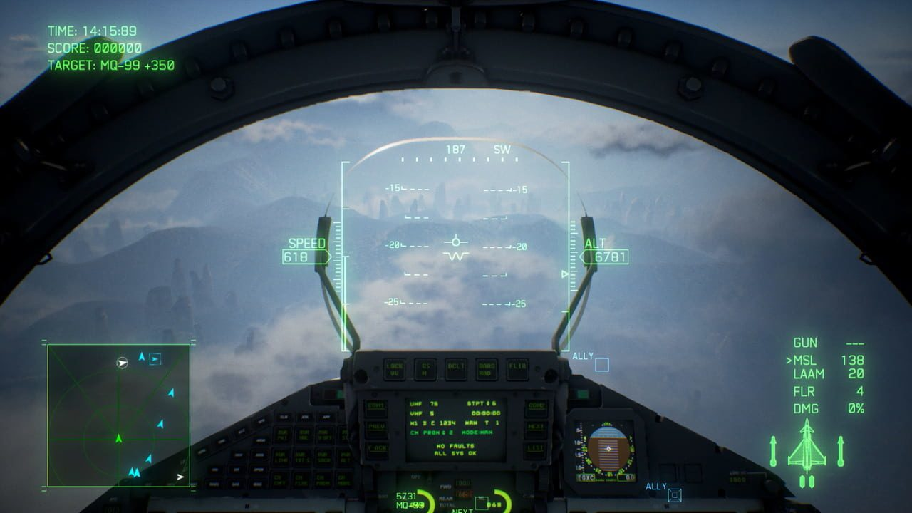 Скриншот Ace Combat 7: Skies Unknown - Deluxe Launch Edition (2019) PC