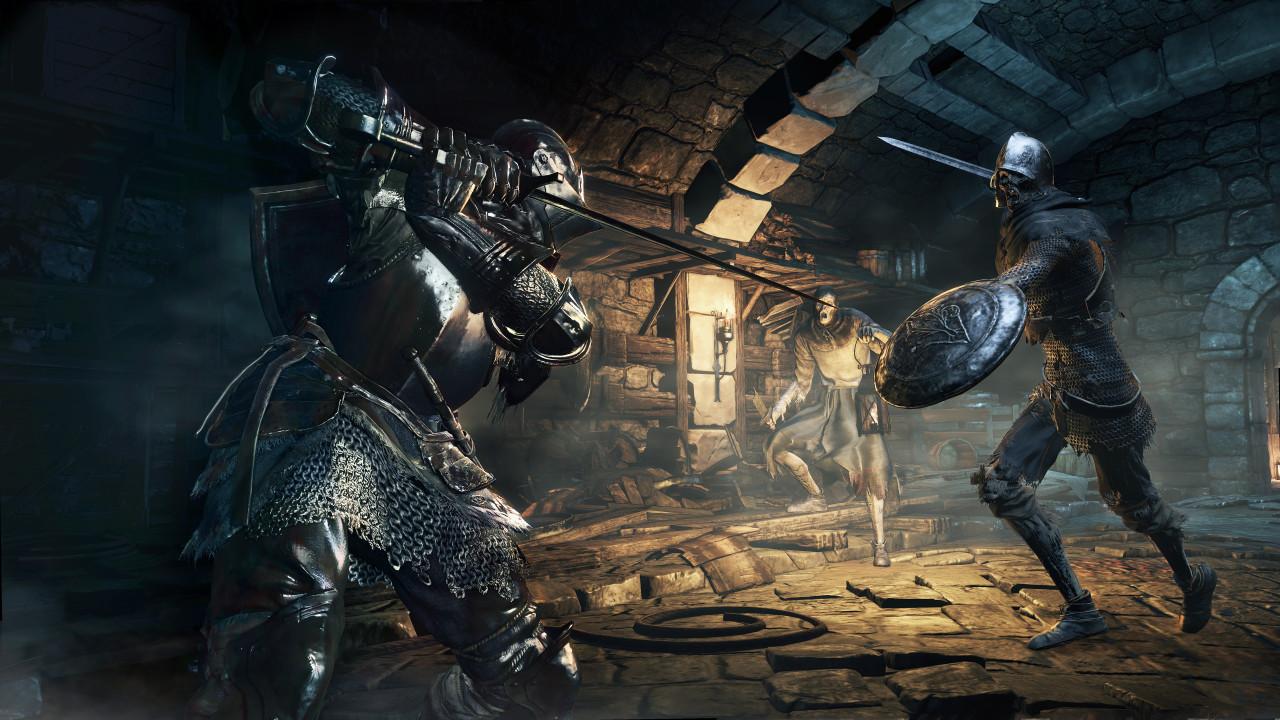 Скриншот Dark Souls 3: Deluxe Edition [v 1.15 + 2 DLC] (2016) PC | RePack от R.G. Механики