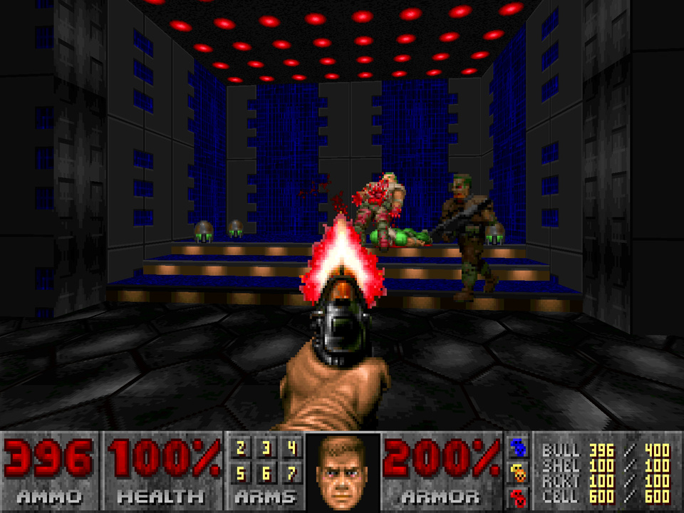 Скриншот Doom - LSD + Dusted's addon [v.1.6] (1993) PC