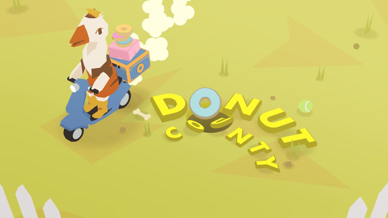 Скриншот Donut County (2018) PC