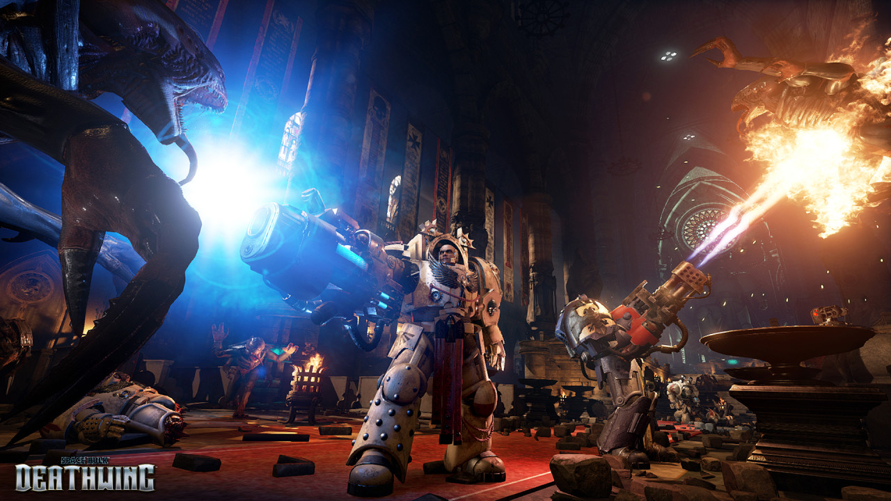 Скриншот Space Hulk: Deathwing (2016) PC