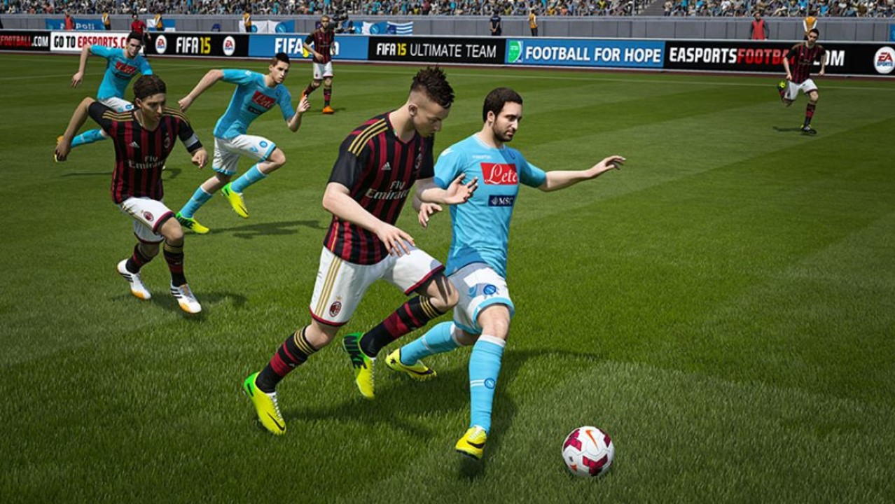 Скриншот FIFA 15: Ultimate Team Edition [Update 8] (2014) PC