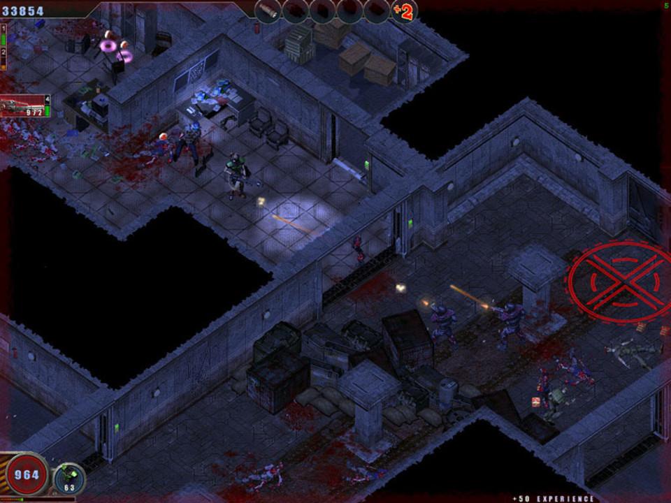 Скриншот Zombie Shooter (2007) РС