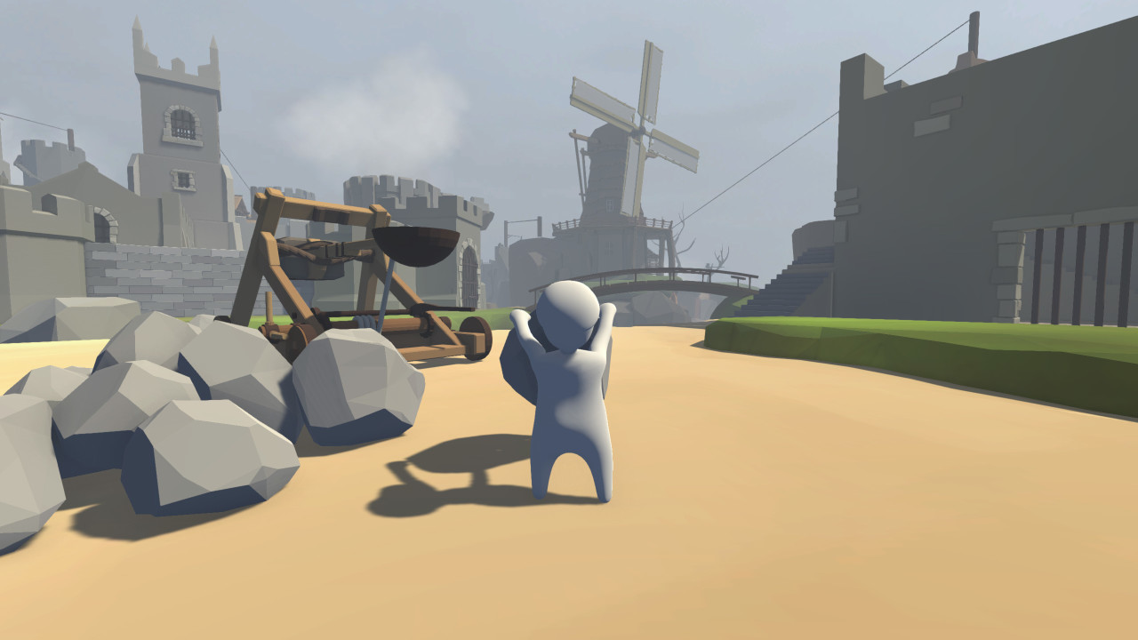 Скриншот Human: Fall Flat (2016) PC | RePack от R.G. Механики