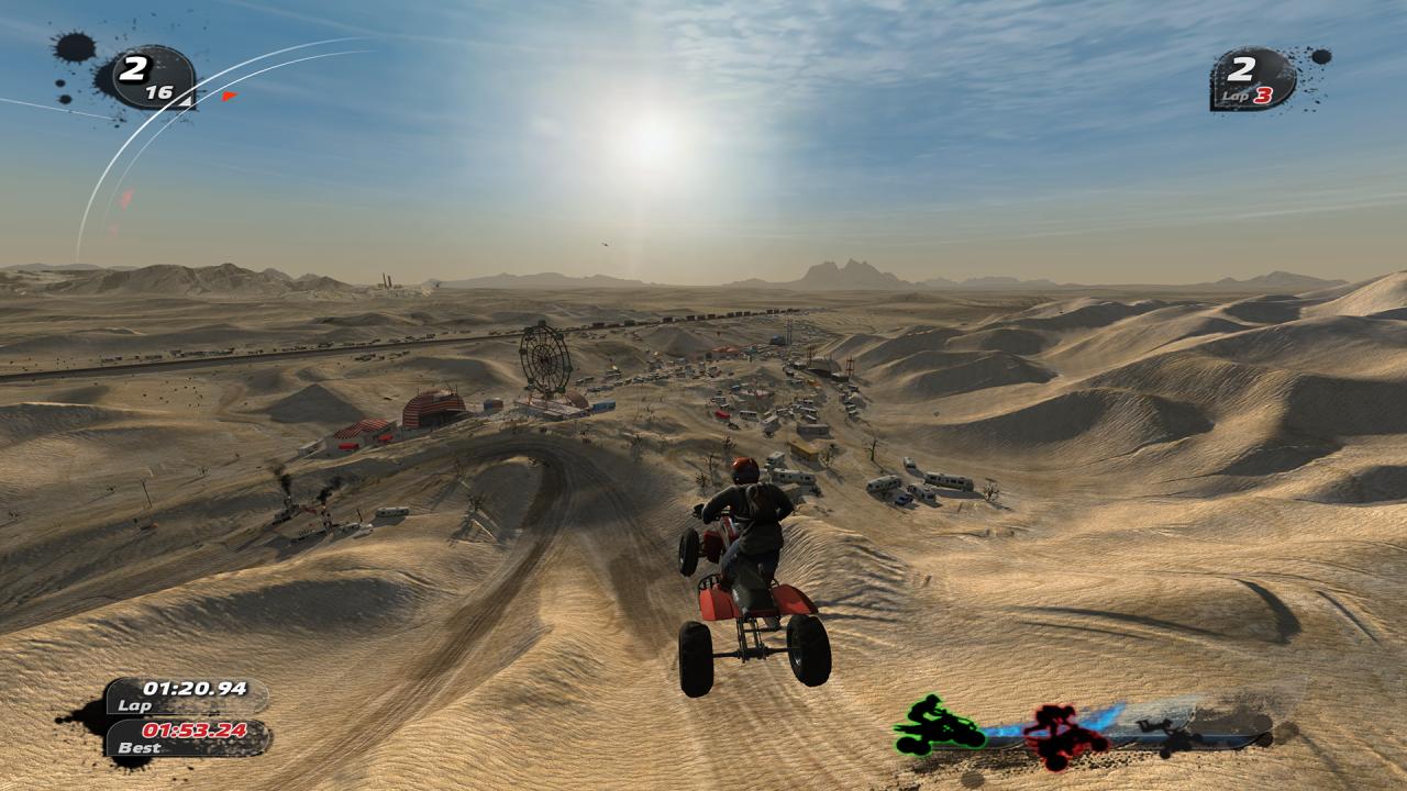 Скриншот Pure: Коллекционное издание (2008) PC   RePack от R.G. Механики