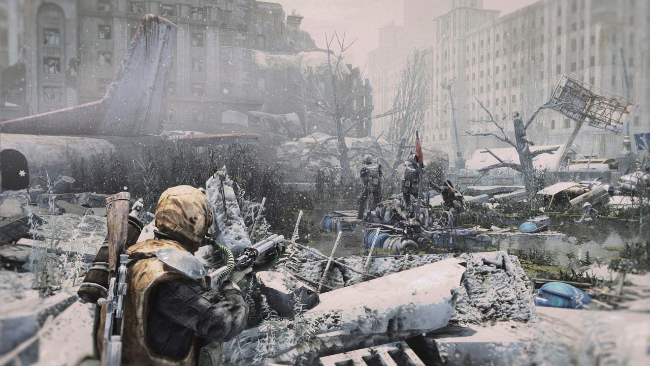 Скриншот Metro: Last Light (2013) РС | RePack от R.G. Механики
