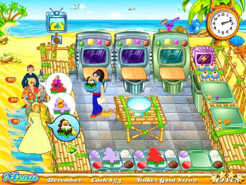 Скриншот Cake Mania 2 (2007) PC