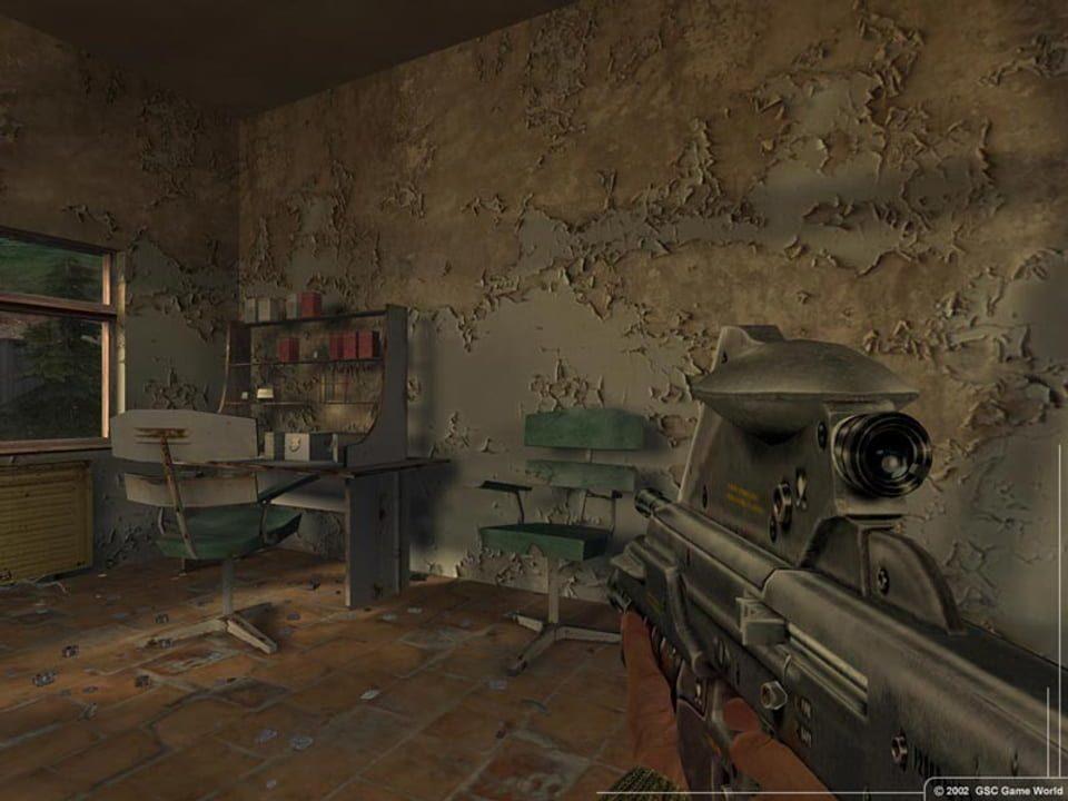 Скриншот S.T.A.L.K.E.R.: Тень Чернобыля [v.1.0004] (2007) PC
