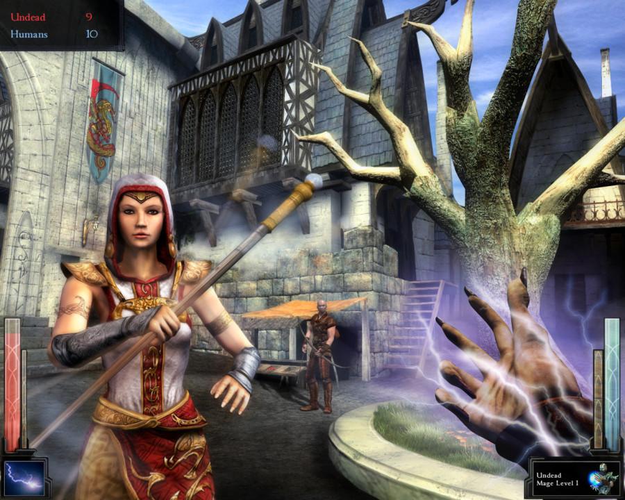Скриншот Dark Messiah of Might and Magic (2006) PC | Rip от R.G. Механики