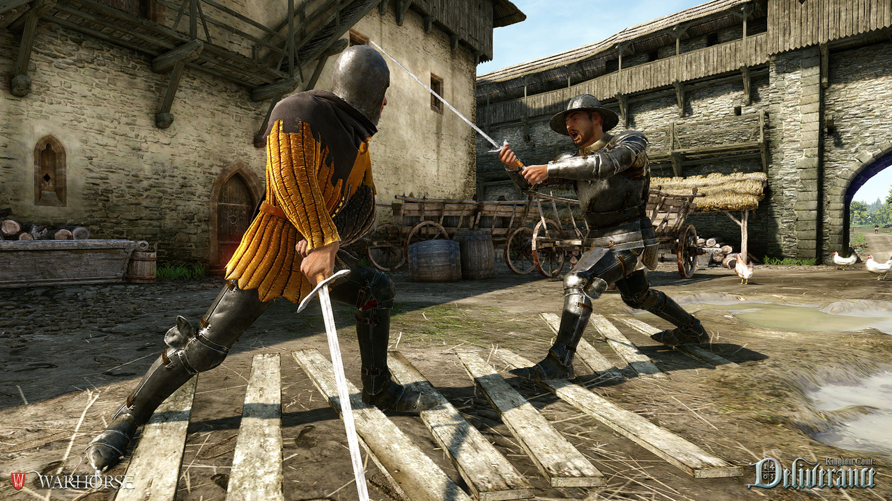 Скриншот Kingdom Come: Deliverance [v.1.4.2 + 2 DLC] (2018) PC