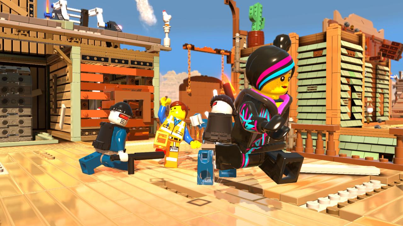 Скриншот The LEGO Movie - Videogame (2014) PC