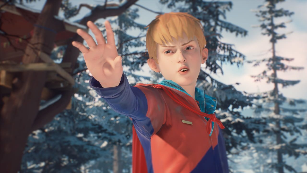 Скриншот The Awesome Adventures of Captain Spirit (2018) PC
