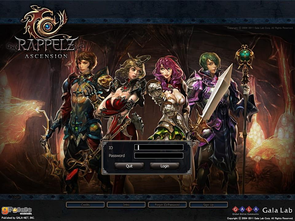 Скриншот Rappelz (2012) PC