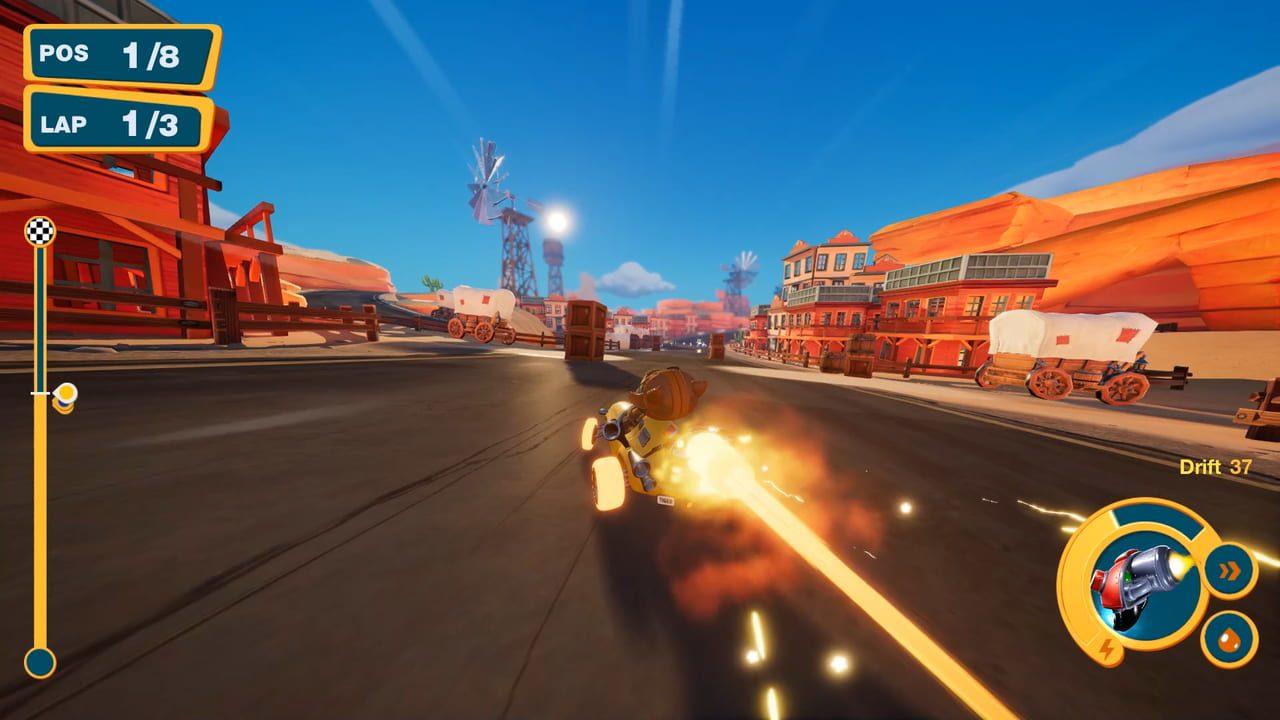 Скриншот Meow Motors (2018) PC