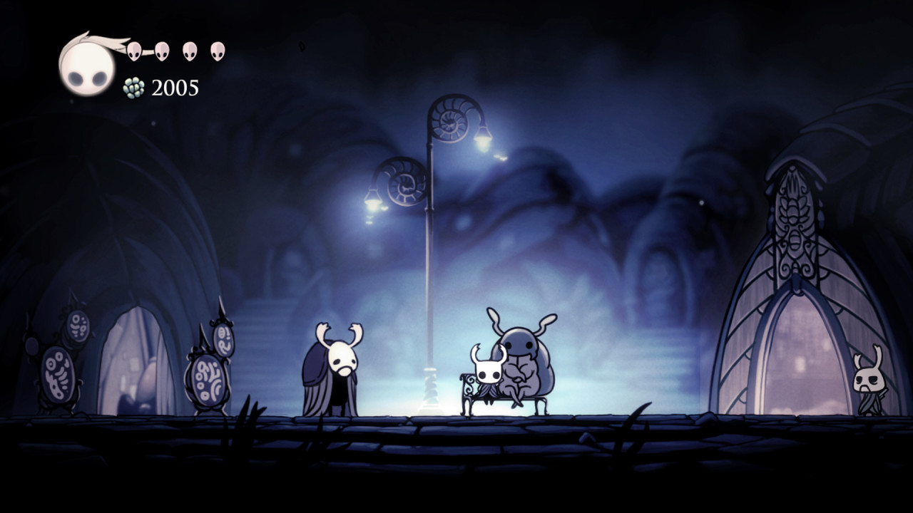 Скриншот Hollow Knight (2017) PC