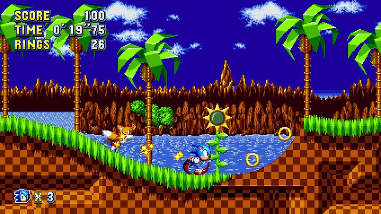 Скриншот Sonic Mania [v 1.03] (2017) PC | RePack от R.G. Механики