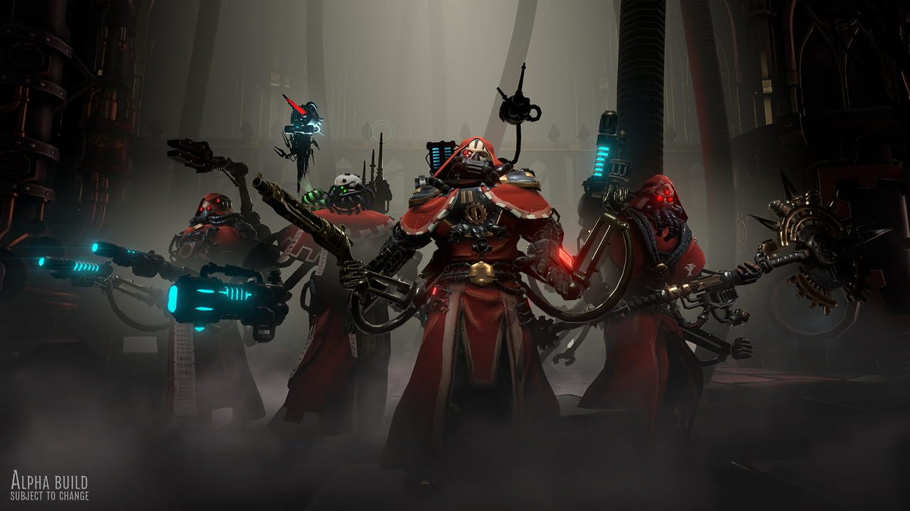 Скриншот Warhammer 40,000: Mechanicus (2018) PC