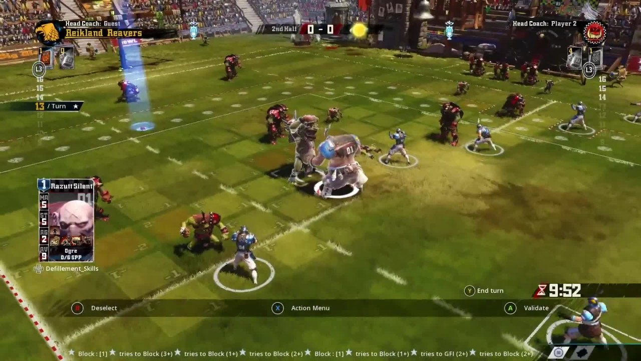 Скриншот Blood Bowl 2 [v 2.3.17.1 + 5 DLC] (2015) PC | RePack от R.G. Механики