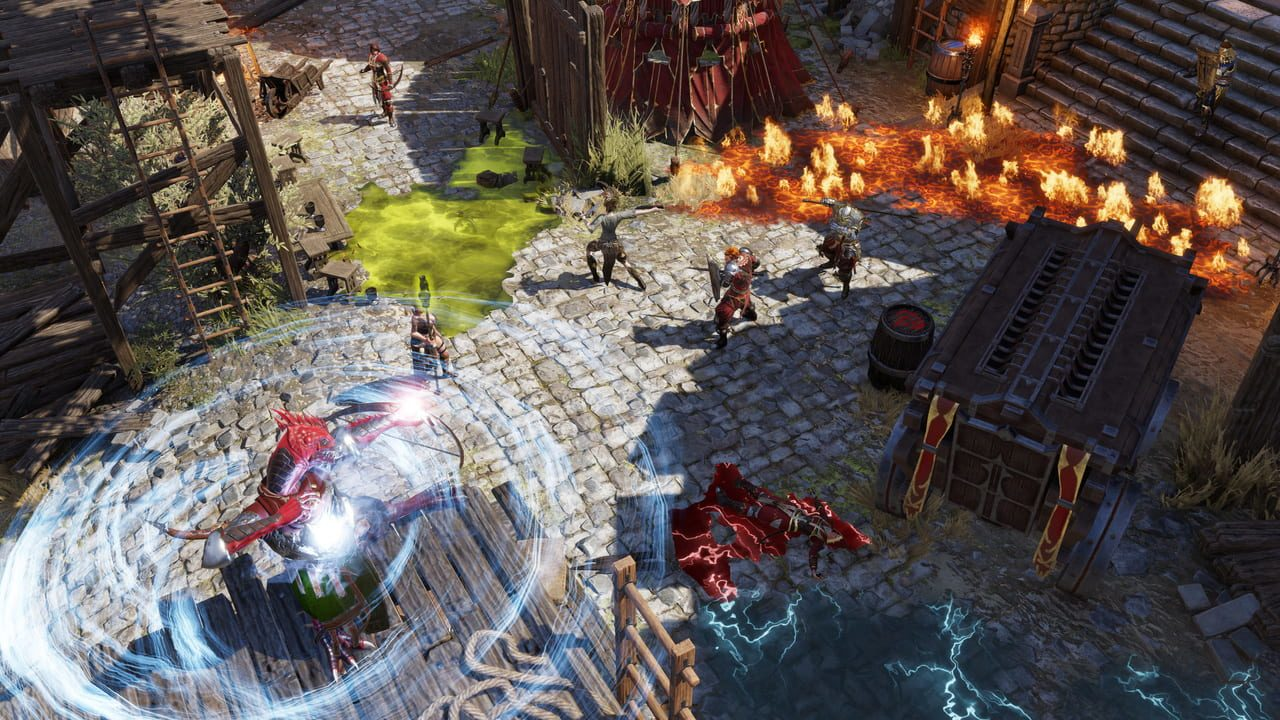 Скриншот Divinity: Original Sin 2 - Definitive Edition (2018) PC
