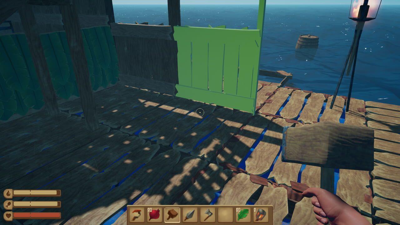 Скриншот Raft (2018) PC