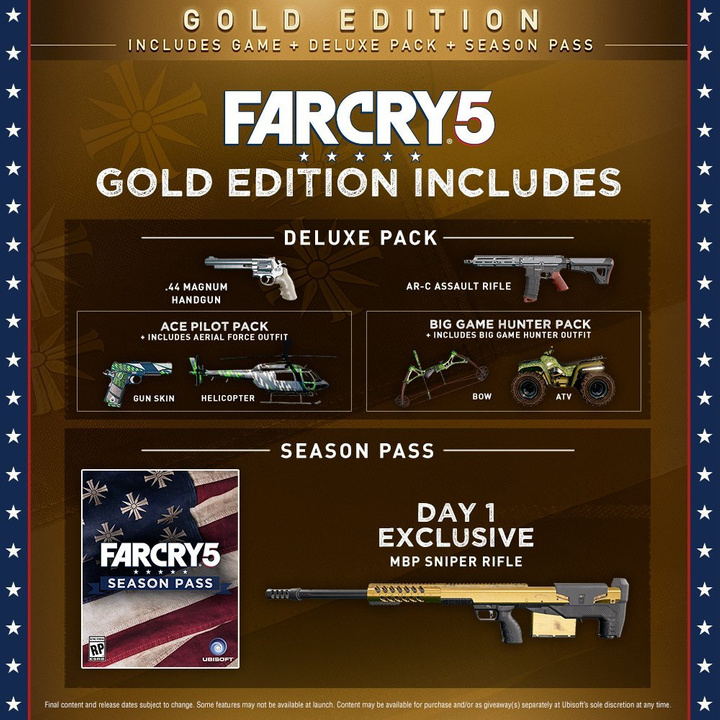 Скриншот Far Cry 5: Gold Edition (2018) PC