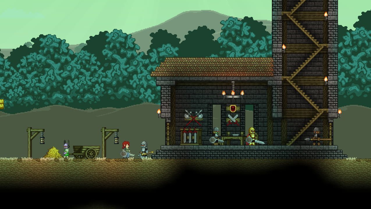 Скриншот Starbound (2016) PC