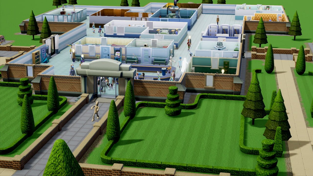 Скриншот Two Point Hospital (2018) PC