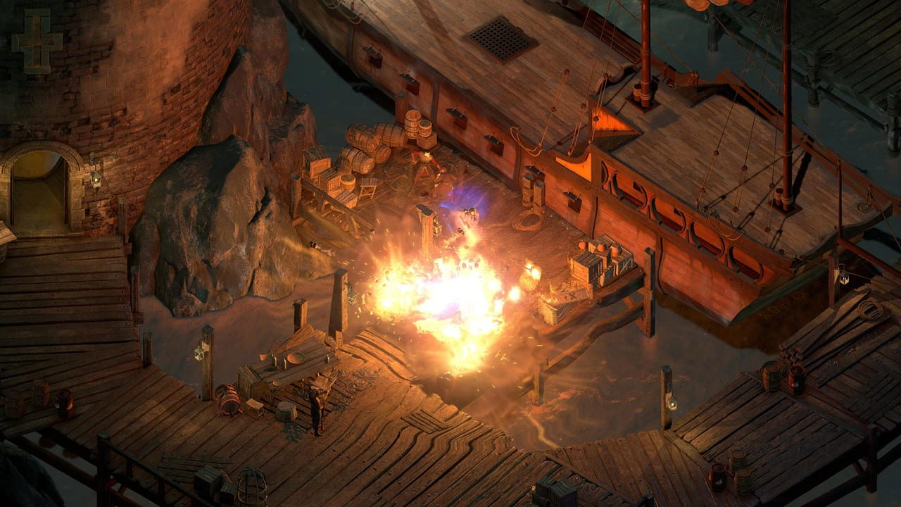 Скриншот Pillars of Eternity II: Deadfire (2018) PC