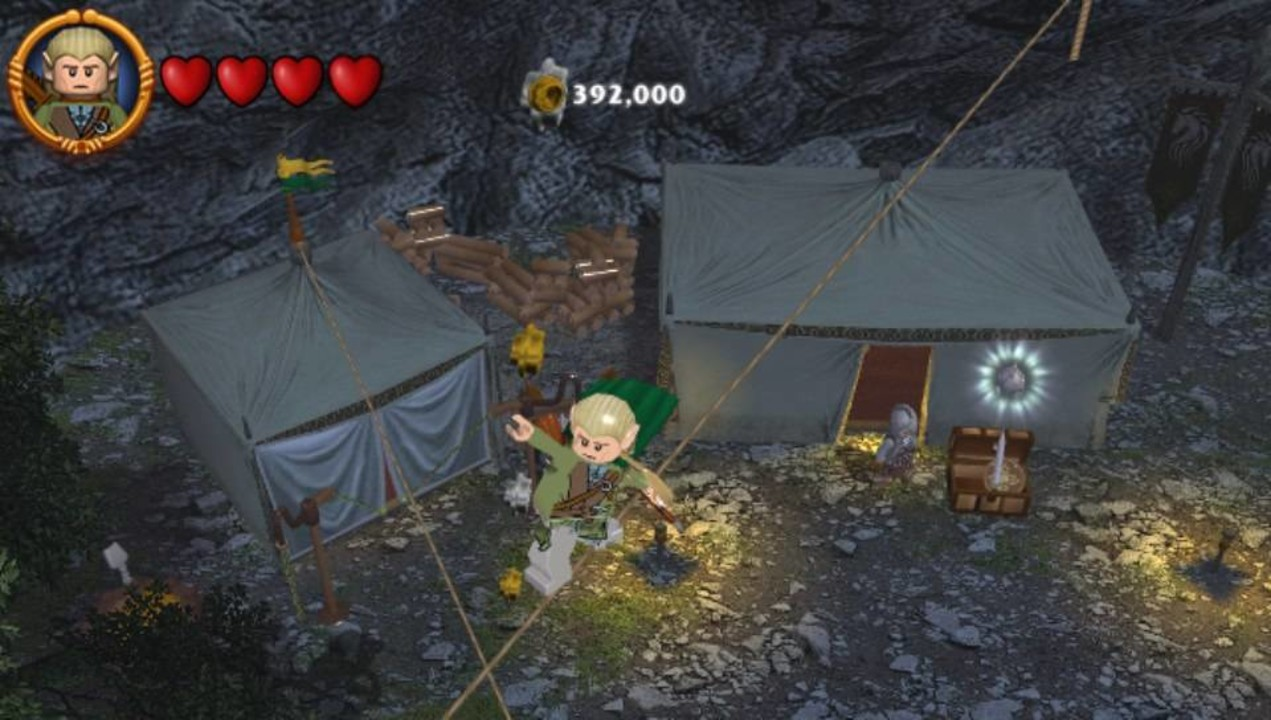 Скриншот LEGO: The Lord Of The Rings (2012) PC | RePack от R.G. Механики