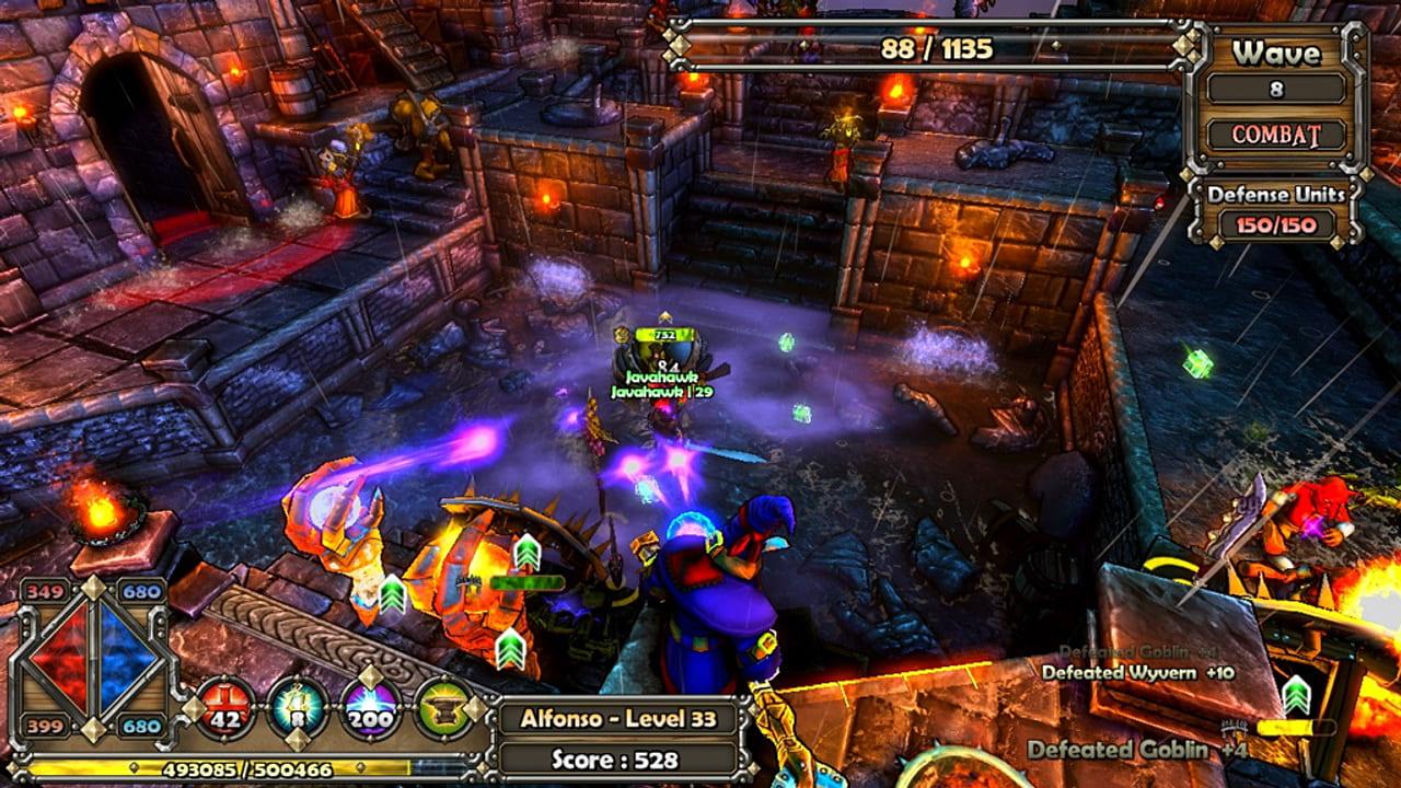 Скриншот Dungeon Defenders (2011) PC на русском