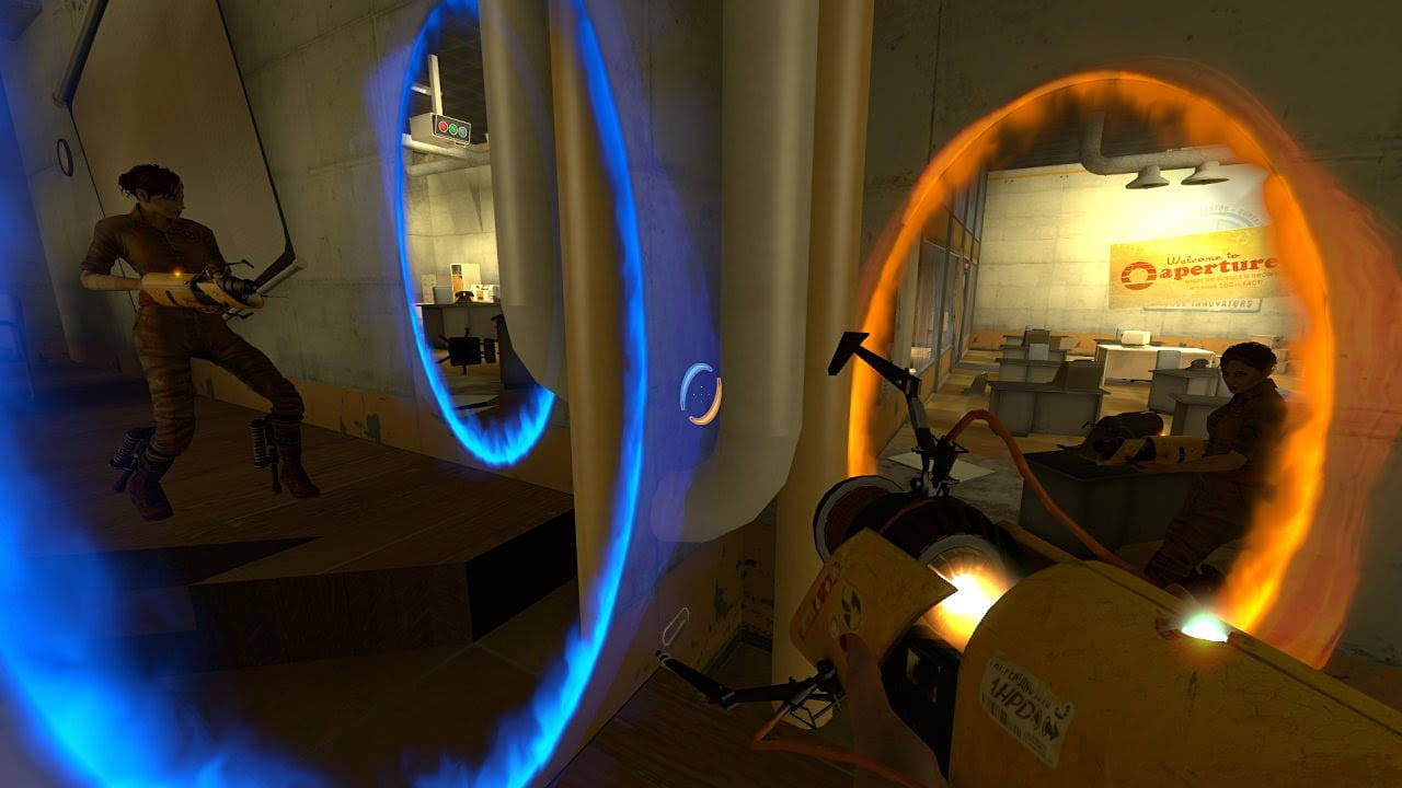 Скриншот Portal Stories: Mel (2015) PC
