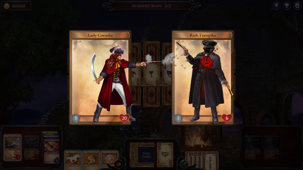 Скриншот Shadowhand (2017) PC