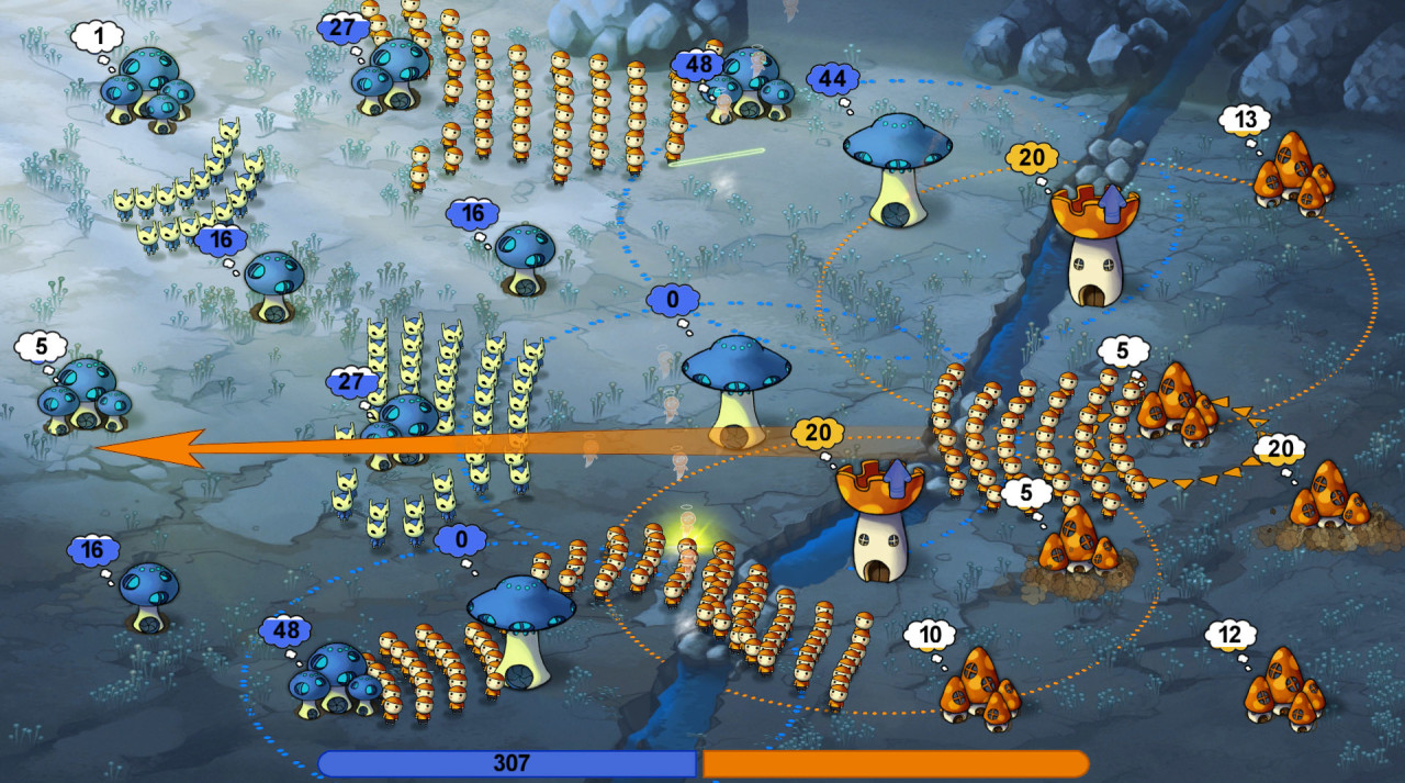Скриншот Mushroom Wars (2016) PC