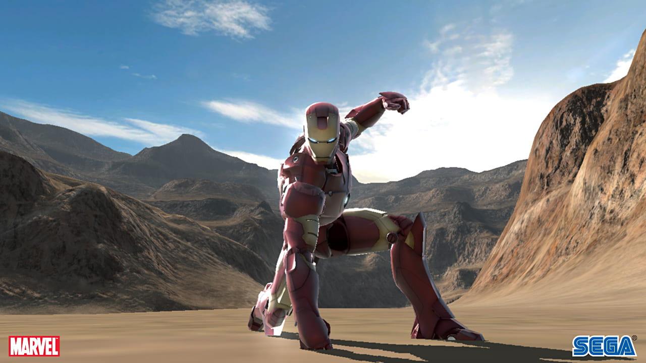 Скриншот Iron Man (2008) PC