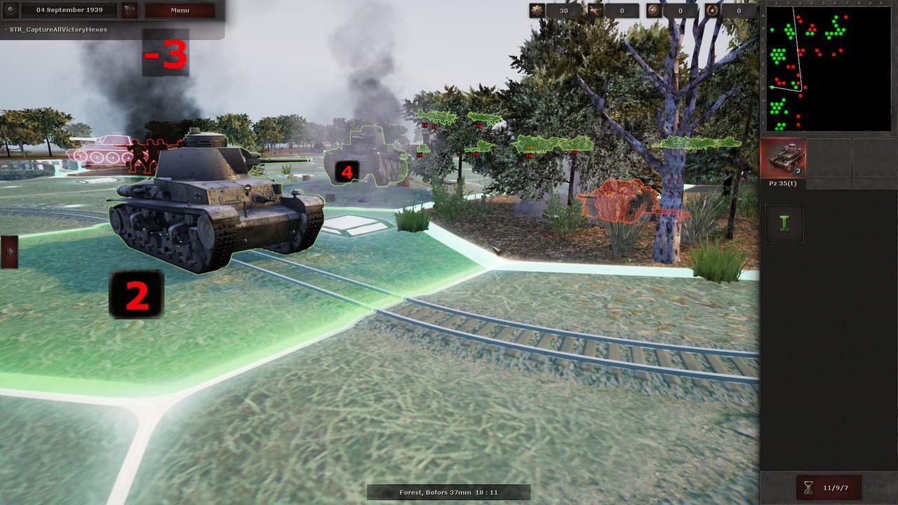 Скриншот Panzer Strategy (2018) PC