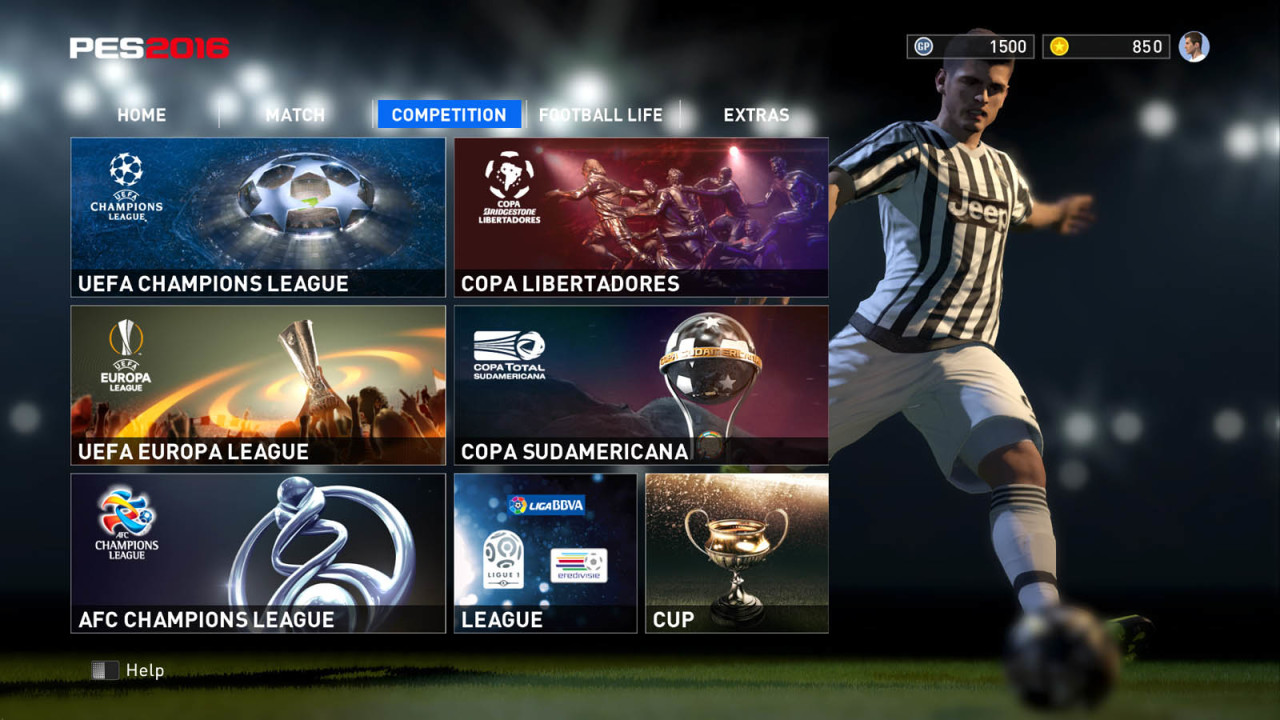 Скриншот PES 2016 / Pro Evolution Soccer 2016 [v 1.03.00] (2015) PC | RePack от R.G. Механики