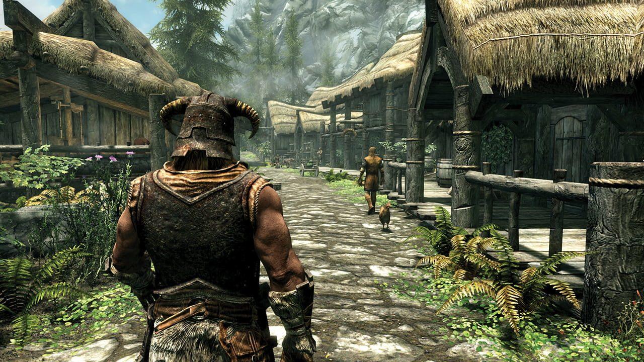 Скриншот The Elder Scrolls V: Skyrim - Special Edition (2019) PC