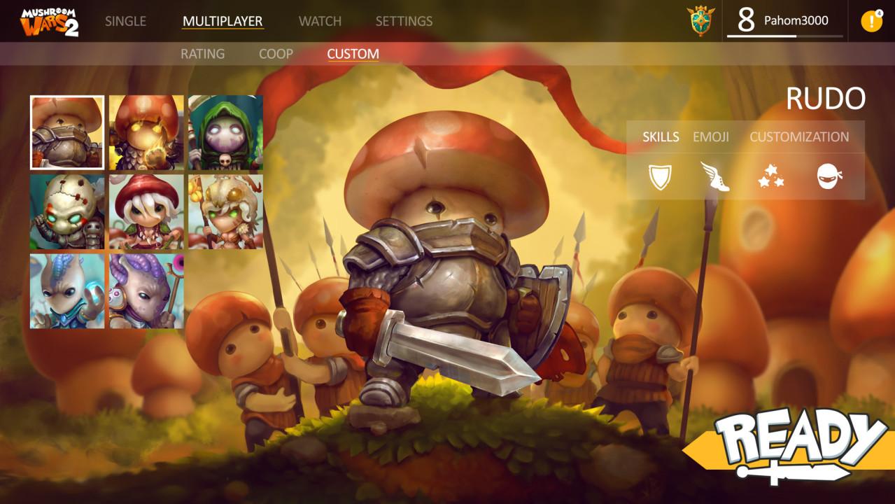 Скриншот Mushroom Wars 2 (2017) РС