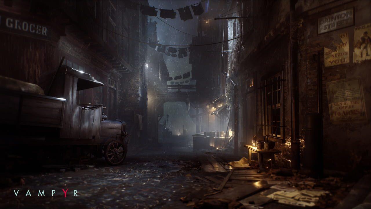 Скриншот Vampyr (2018) PC