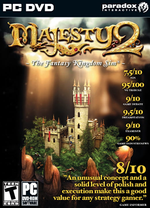 Majesty 2: The Fantasy Kingdom Sim (2009) PC