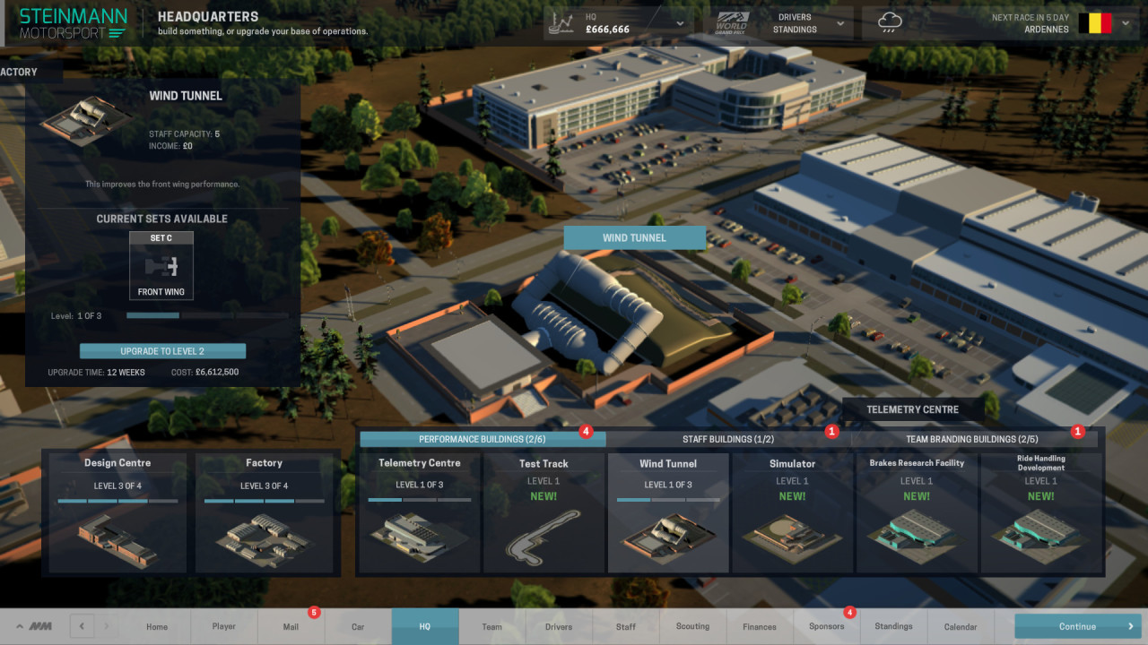 Скриншот Motorsport Manager [v 1.4.14933 + 4 DLC] (2016) PC