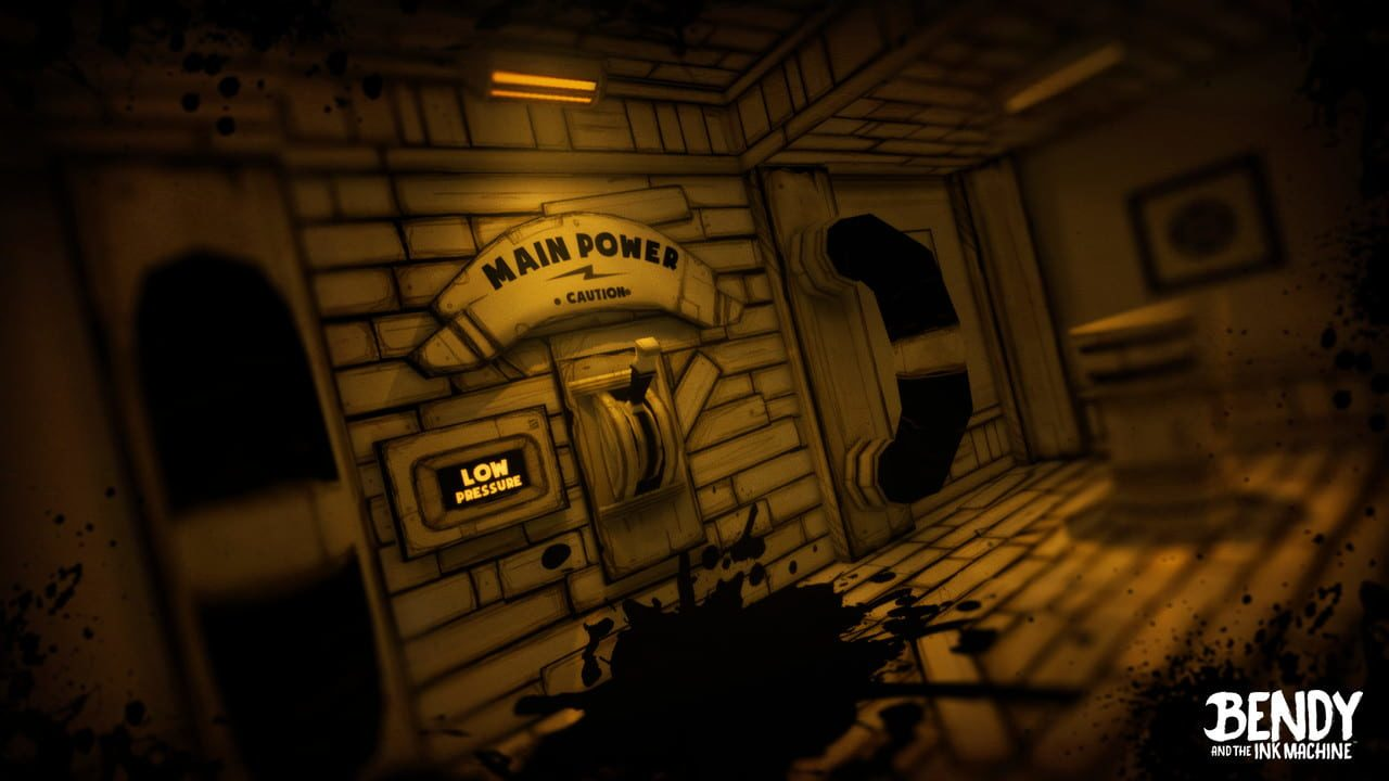 Скриншот Bendy and the Ink Machine: Complete Edition (2017-2018) PC