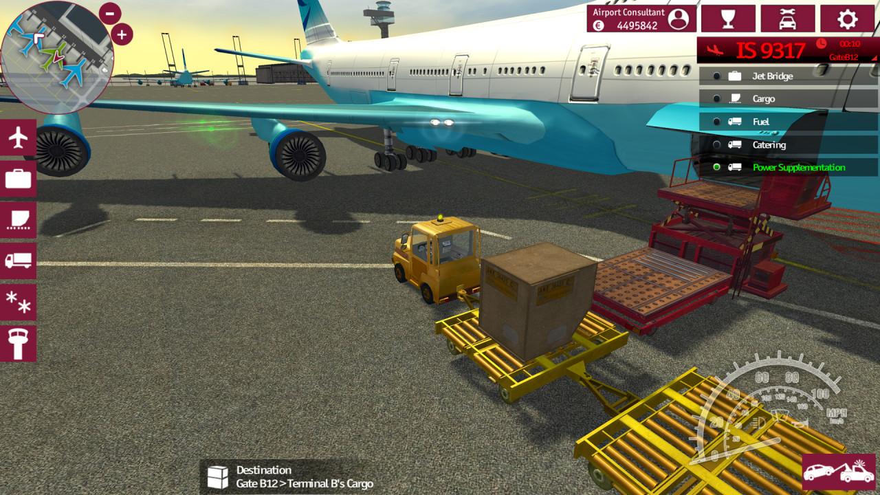 Скриншот Airport Simulator 2015 (2015) PC