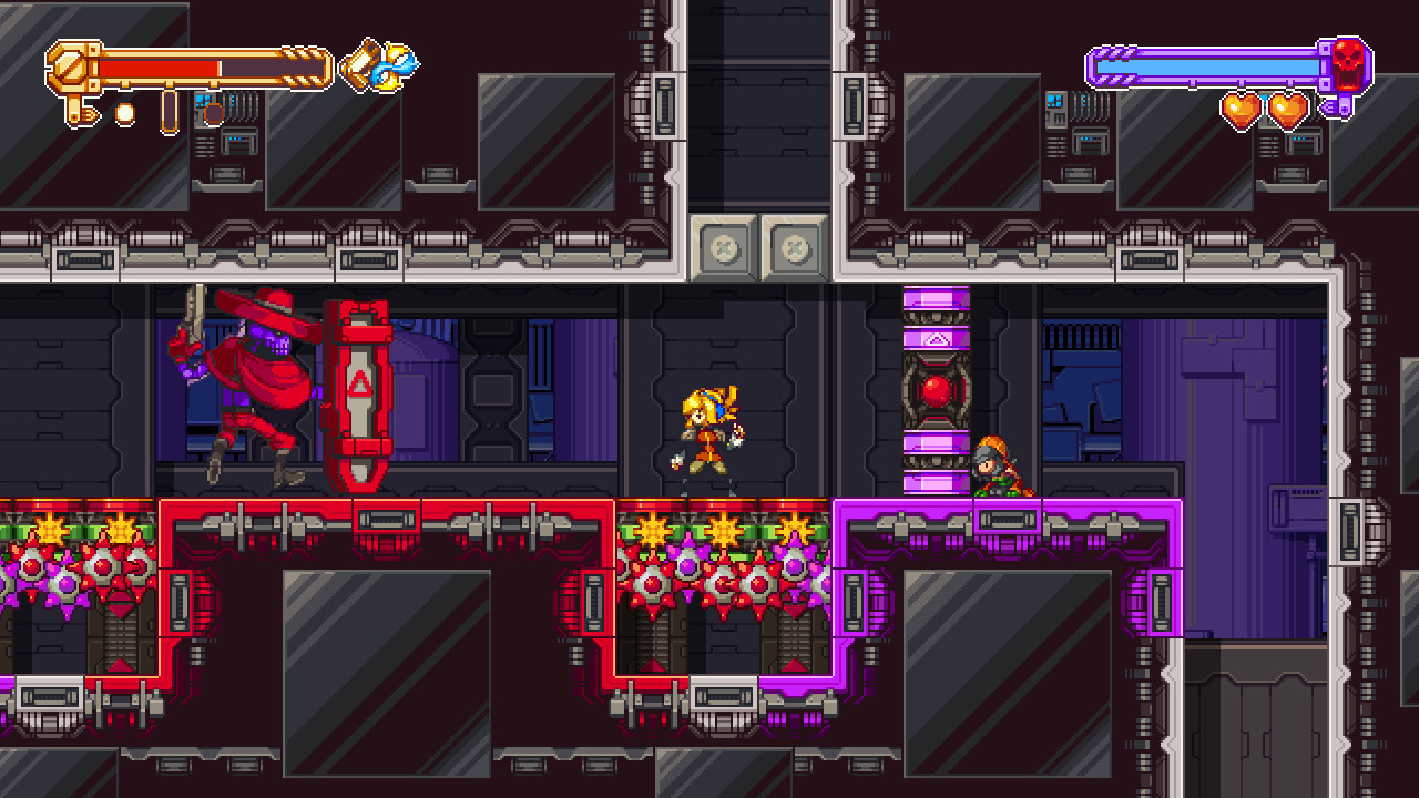 Скриншот Iconoclasts (2018) PC