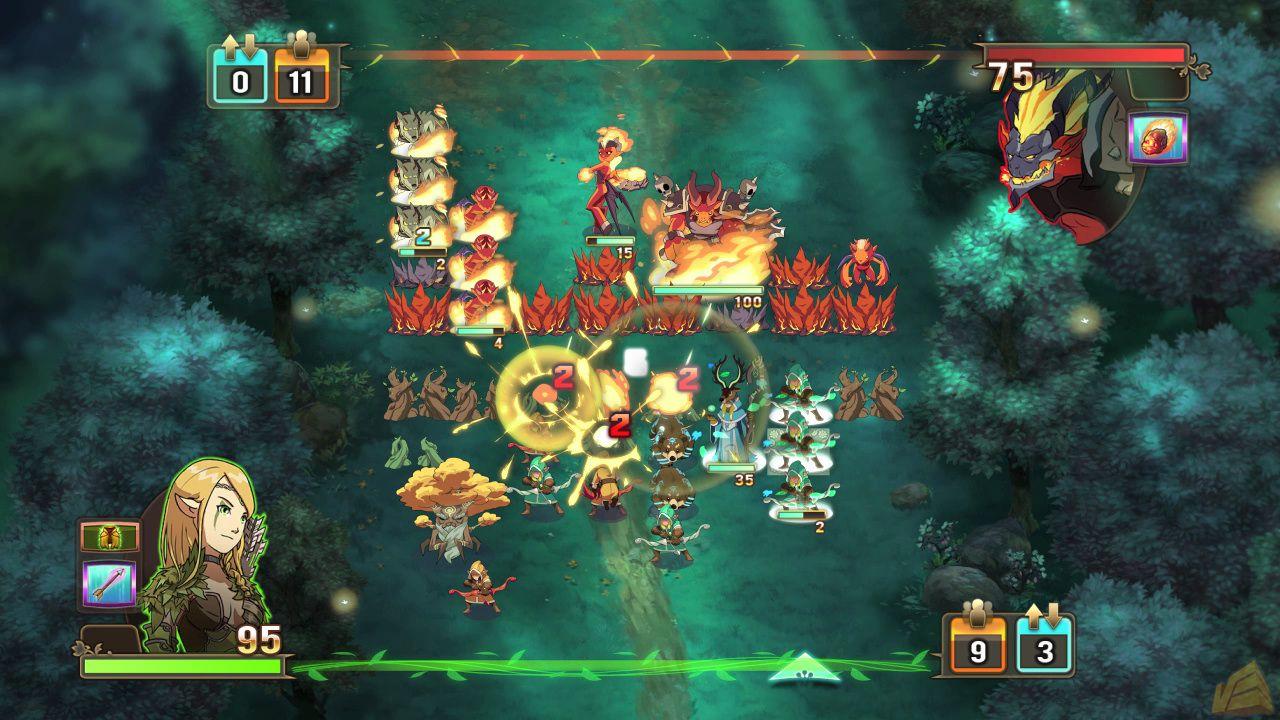 Скриншот Might and Magic: Clash of Heroes (2011) PC | RePack от R.G. Механики