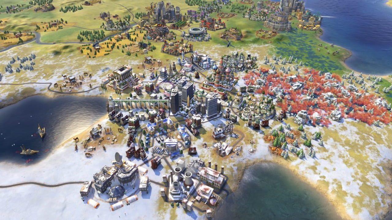 Скриншот Sid Meier's Civilization VI: Rise and Fall (2016) PC