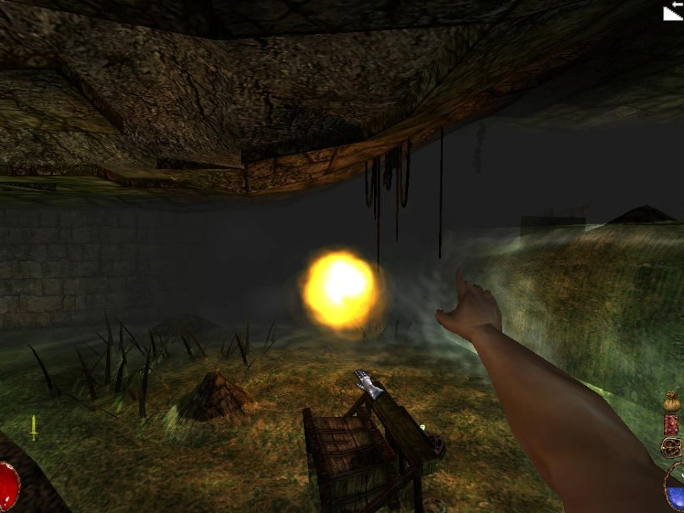 Скриншот Arx Fatalis (2002) PC