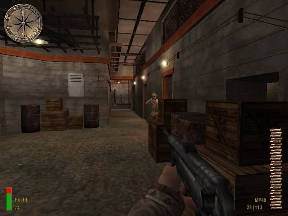 Скриншот Medal of Honor: Allied Assault (2002) PC