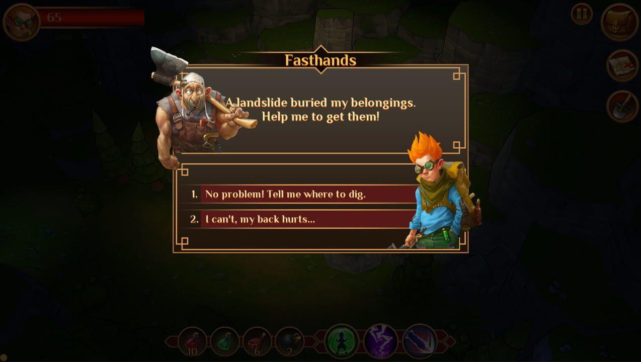 Скриншот Quest Hunter (2019) PC