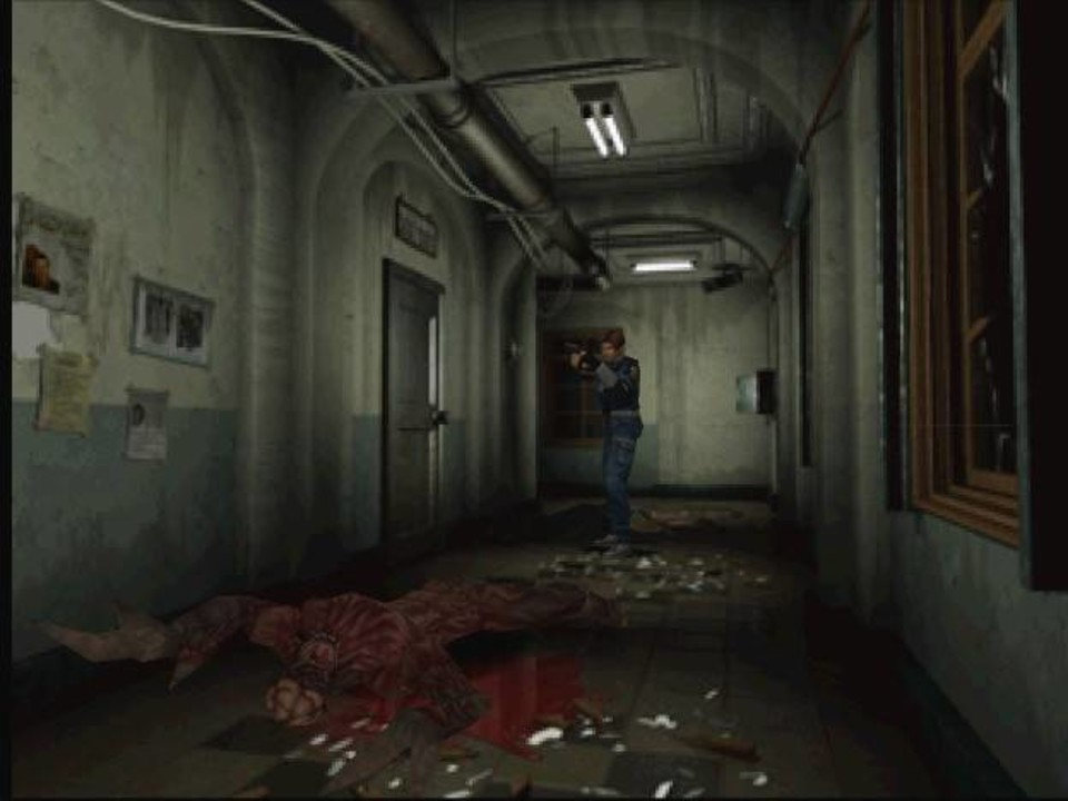 Скриншот Resident Evil 2 (1999) PC